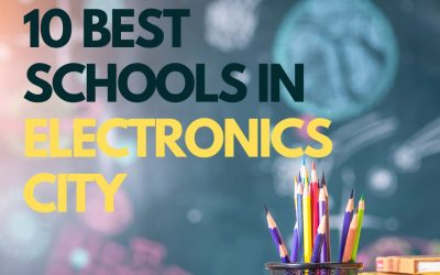 Top 10 Schools in/near Electronic City Bangalore