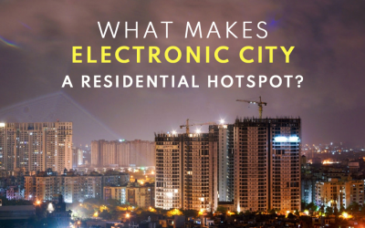 What makes the Electronic City residential hotspot?
