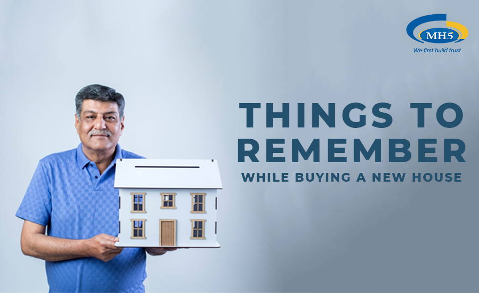 What are the things to remember before buying your dream home?