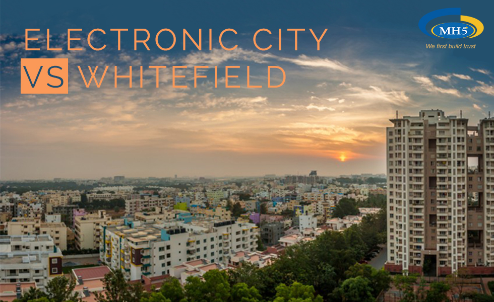 Electronic City vs. Whitefield