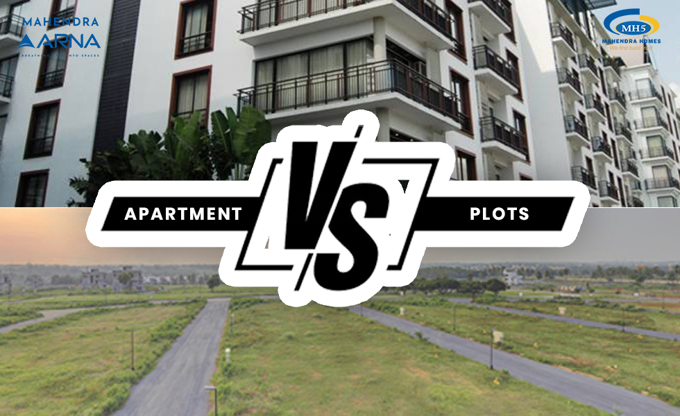 Plots vs Apartments for Investment Purpose
