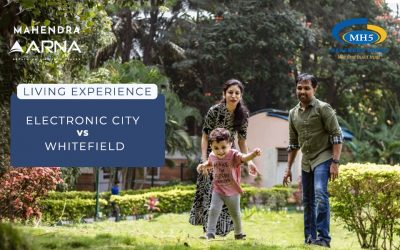 Living Experience – Electronic City vs Whitefield