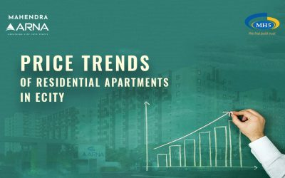 What is the Price Trend of Residential Apartments in Electronic City?